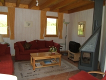 Woonkamer Chalet